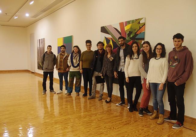 Alumnos de la Escuela de Diseño de La Rioja (ESDIR).