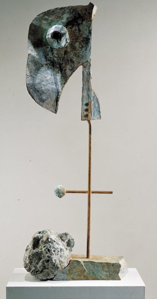 Figure, 1981, bronce, 126 x 50 x 28 cm, bronce, 4/6, cortesía de la galería Lelong, París.