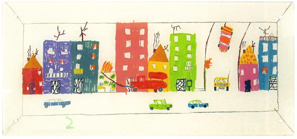 L'Air que l'on respire, de DANIEL CHUST PETERS (Sao Paulo, 1965). Vive y trabaja en Barcelona.