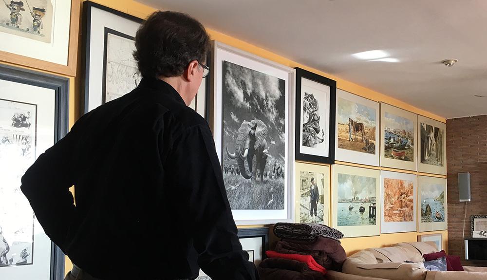 El ilustrador Ricardo Martínez.
