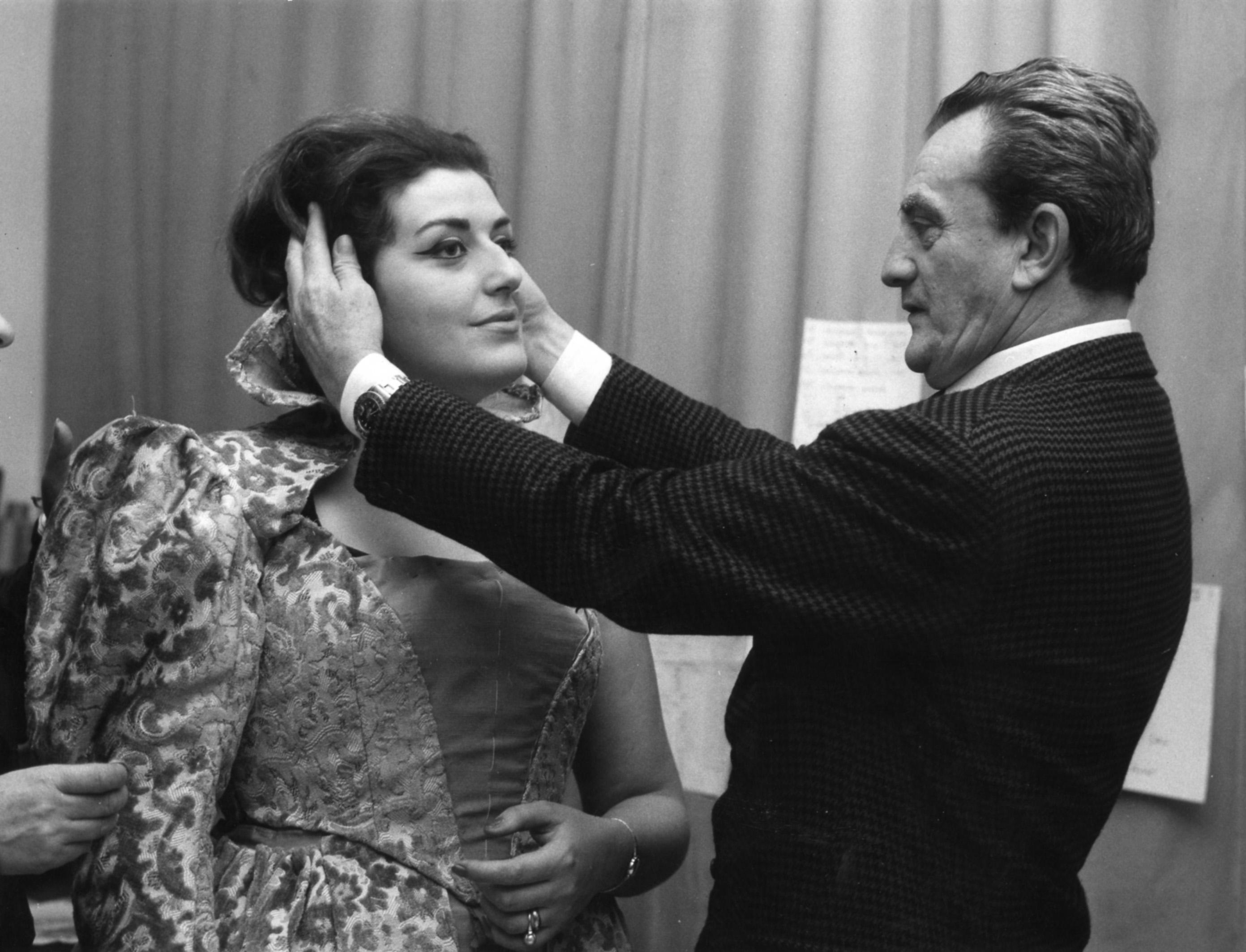 """Mirella Parutto y Luchino Visconti, """"Don Carlos"""" (1965)"""