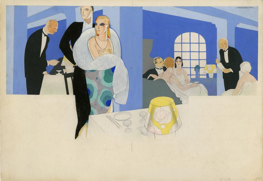 Carlos Masberger. Por las rutas tenebrosas (1930). © Museo ABC