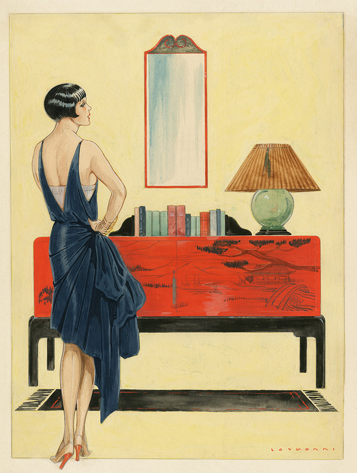 José Loygorri. La mujer y la casa. 1929 ©Museo ABC
