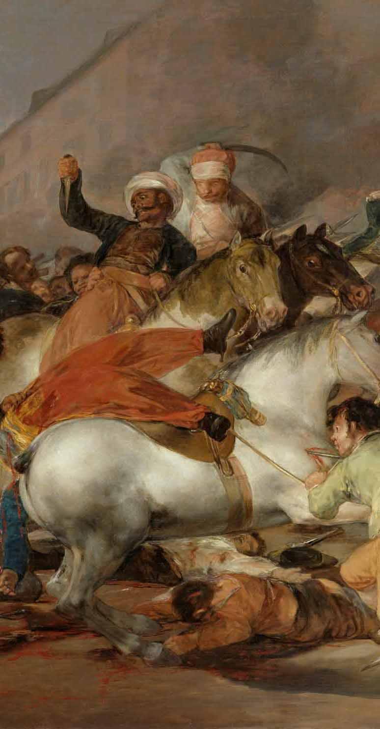 Goya: la angustiosa mirada de un trágico 2 de mayo Artes & contextos mamelucos centro