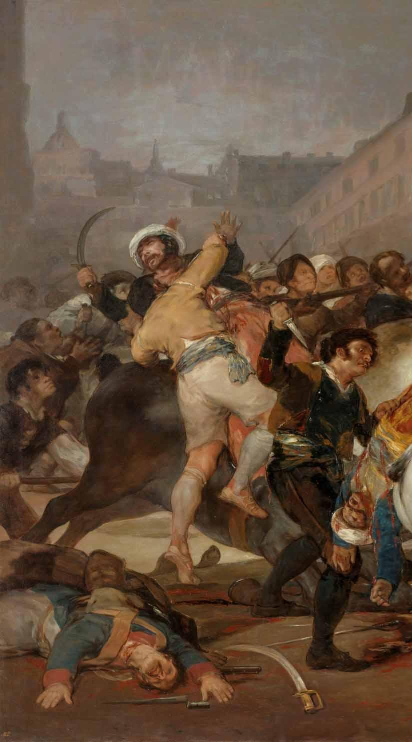 Goya: la angustiosa mirada de un trágico 2 de mayo Artes & contextos mamelucos izquierda