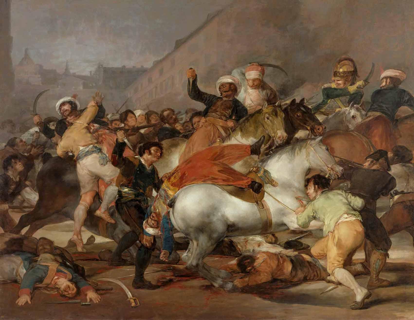 Goya: la angustiosa mirada de un trágico 2 de mayo Artes & contextos mamelucos
