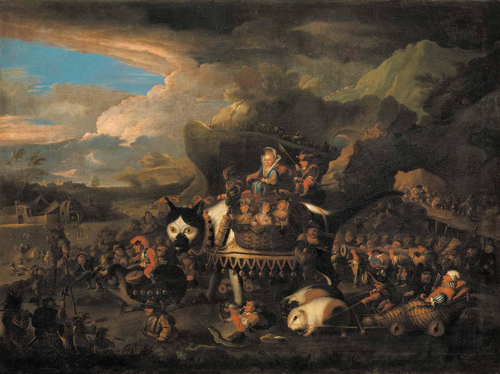 """El carro de oro"" de Johann Paul Schor Artes & contextos Fig. 15"