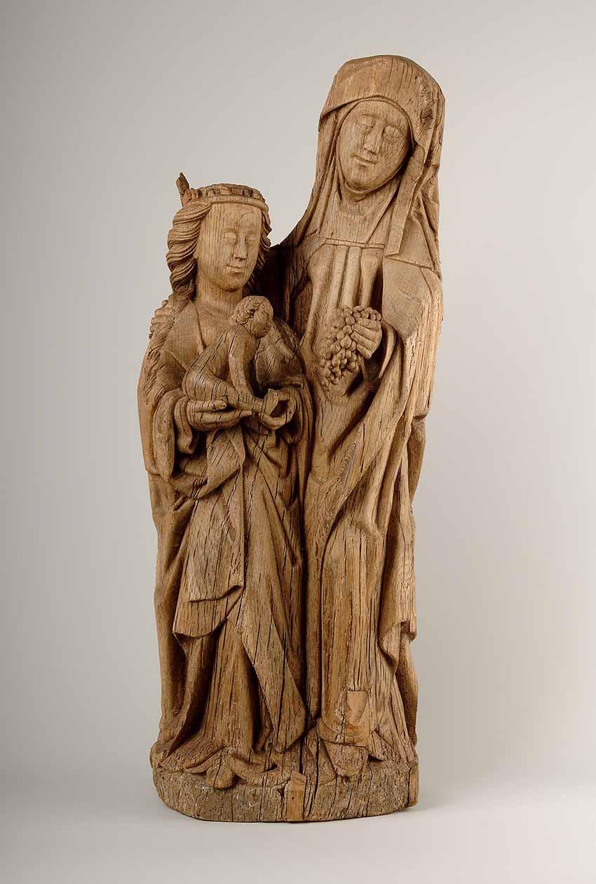Un diálogo entre escultura y pintura Artes & contextos Santa Ana baja