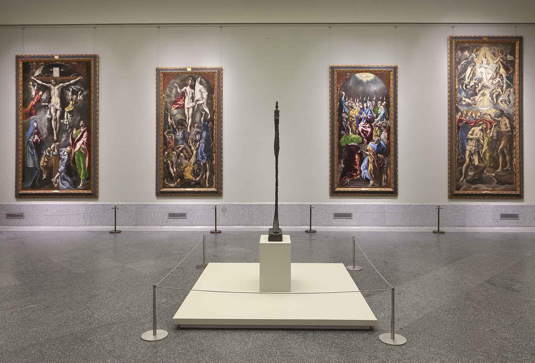Giacometti dialoga con los grandes maestros del Prado Artes & contextos c0118d84 fd5f 8d55 0b95 7c295f90ea5f