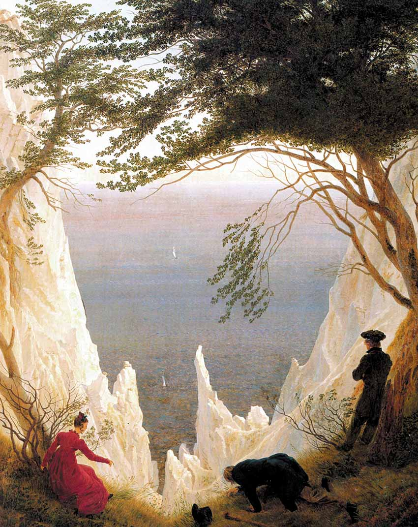 Caspar David Friedrich: paisajes alegóricos Artes & contextos Caspar David Friedrichs Chalk Cliffs on Ru%CC%88gen