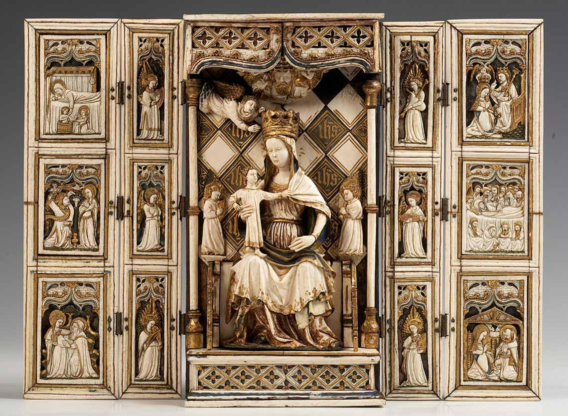 Gante celebra em 2020 o ano Jan van Eyck (extendido até à Primavera de 2021) Artes & contextos EXPO ARTE MEDIEVAl 218124 de hemel in een notendop