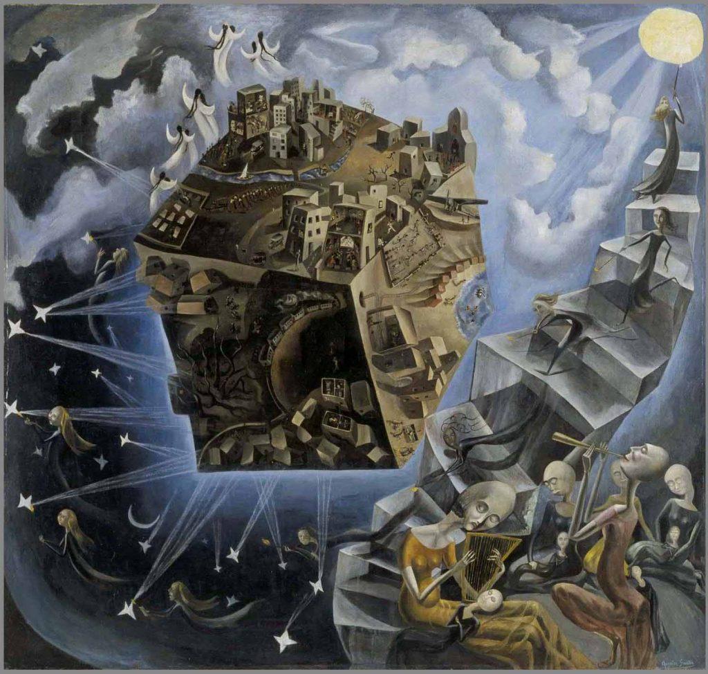 Paisagens Espirituais na arte de Juan Carlos Savater Artes & contextos ANGELES SANTOS UN MUNDO