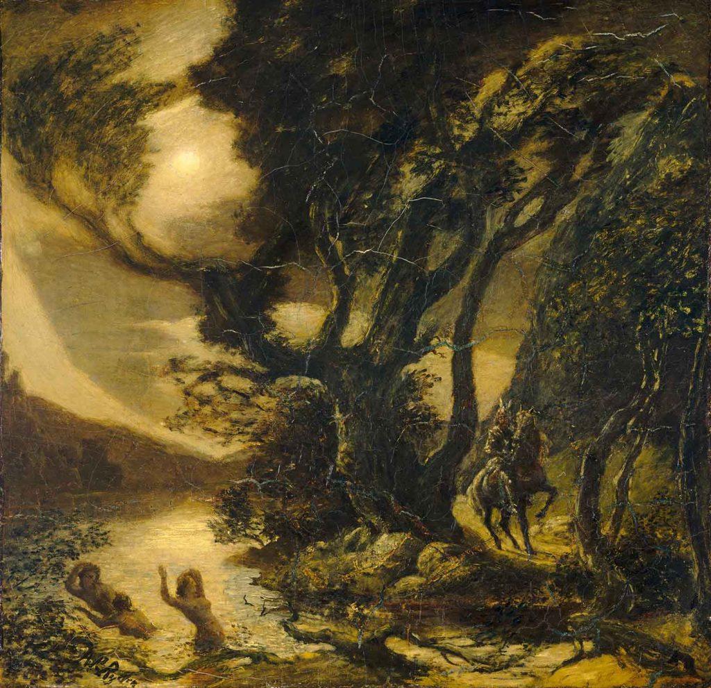 Paisagens Espirituais na arte de Juan Carlos Savater Artes & contextos Albert Pinkham Ryder 004