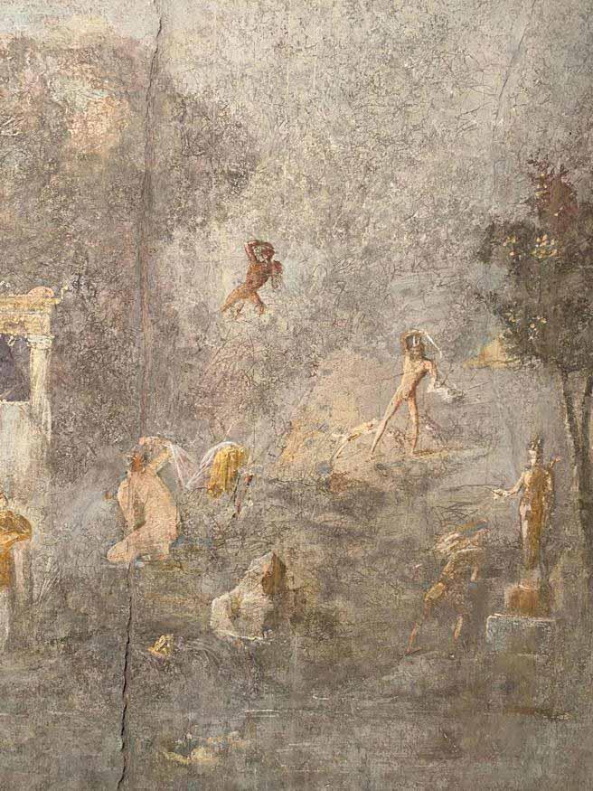 Casa dos Amantes em Pompeia.