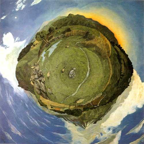 Paisagens Espirituais na arte de Juan Carlos Savater Artes & contextos Mapa de la pequeña tierra
