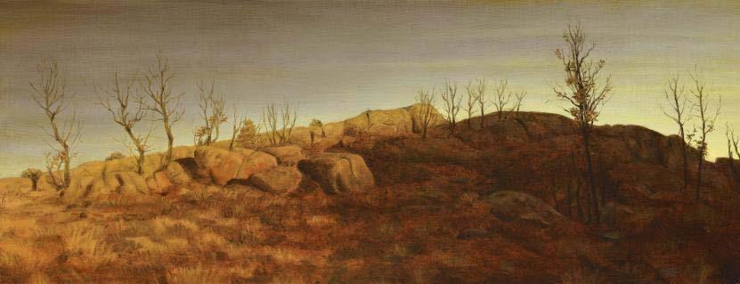 Paisagens Espirituais na arte de Juan Carlos Savater Artes & contextos PEQUENOS ROBLES DE LA SIERRA