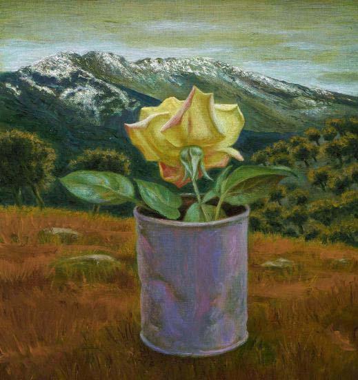 Paisagens Espirituais na arte de Juan Carlos Savater Artes & contextos Rosa y mujer muerta