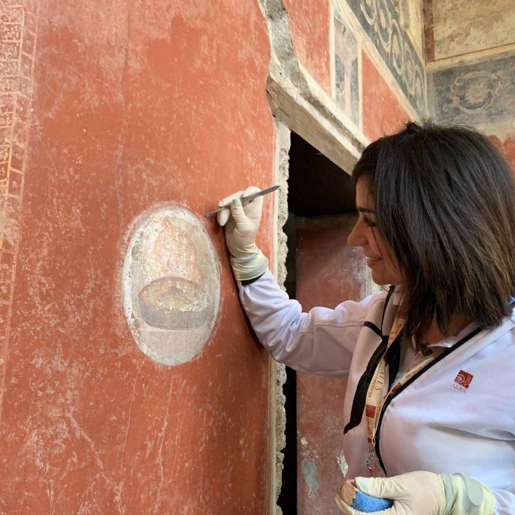 Casa dos Amantes em Pompeia