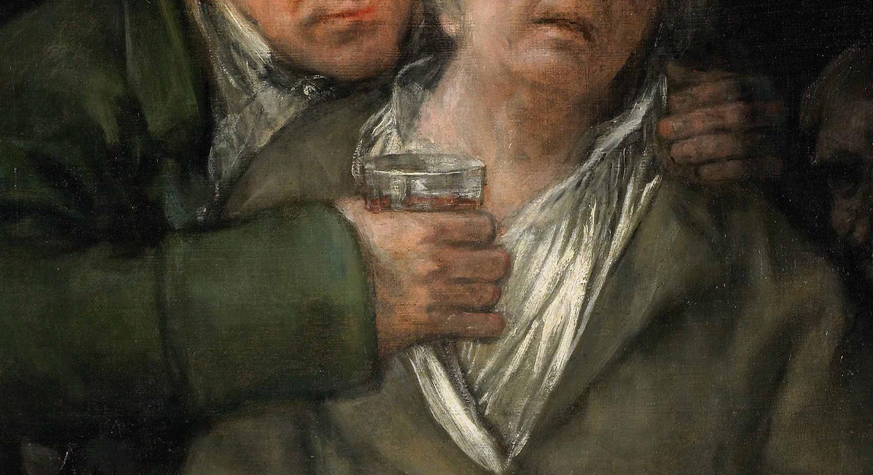 Francisco de Goya, homenagem ao doutor Arrieta Artes & contextos verde 2