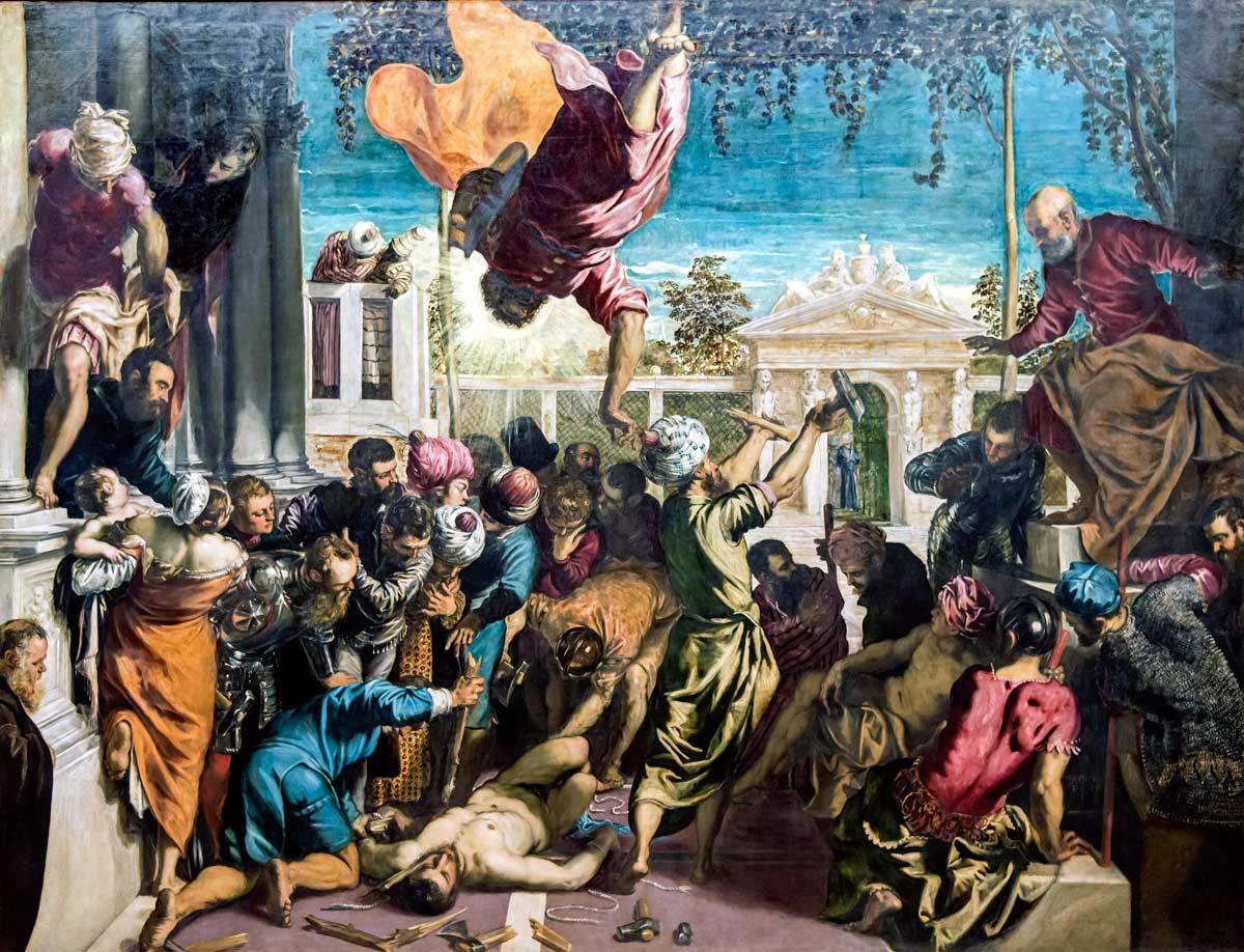 Tintoretto, o pintor de Veneza Artes & contextos Accademia Miracle of the Slave by Tintoretto