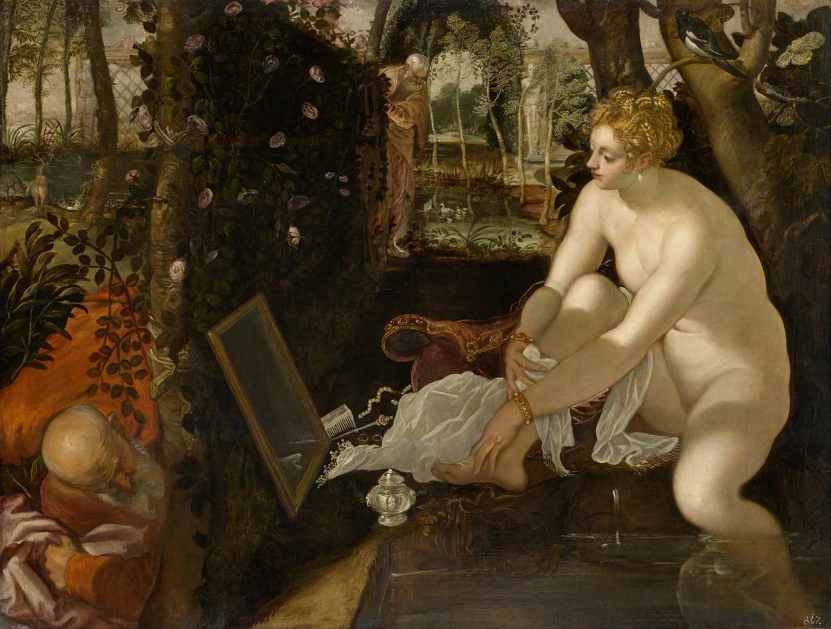 Tintoretto, o pintor de Veneza Artes & contextos Jacopo Robusti called Tintoretto Susanna and the Elders Google Art Project 1
