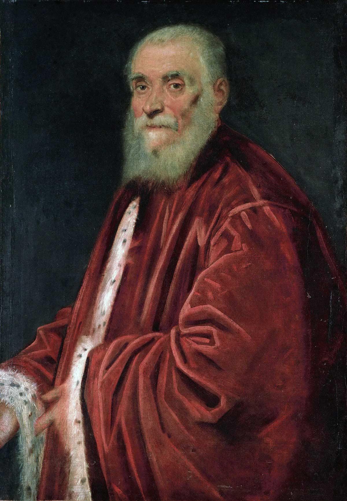 Tintoretto, o pintor de Veneza Artes & contextos Jacopo Tintoretto 036 el procurador marco
