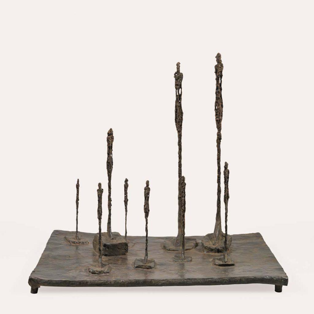 Rodin - Giacometti, Duelo de Titãs Artes & contextos La Clairière El claro