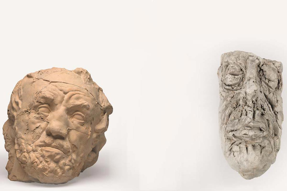 Rodin - Giacometti, Duelo de Titãs Artes & contextos Rodin Giacometti apert