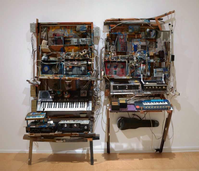 Cosmologia da arte sonora Artes & contextos descubrir Dieter Roth y Bjorn Roth.