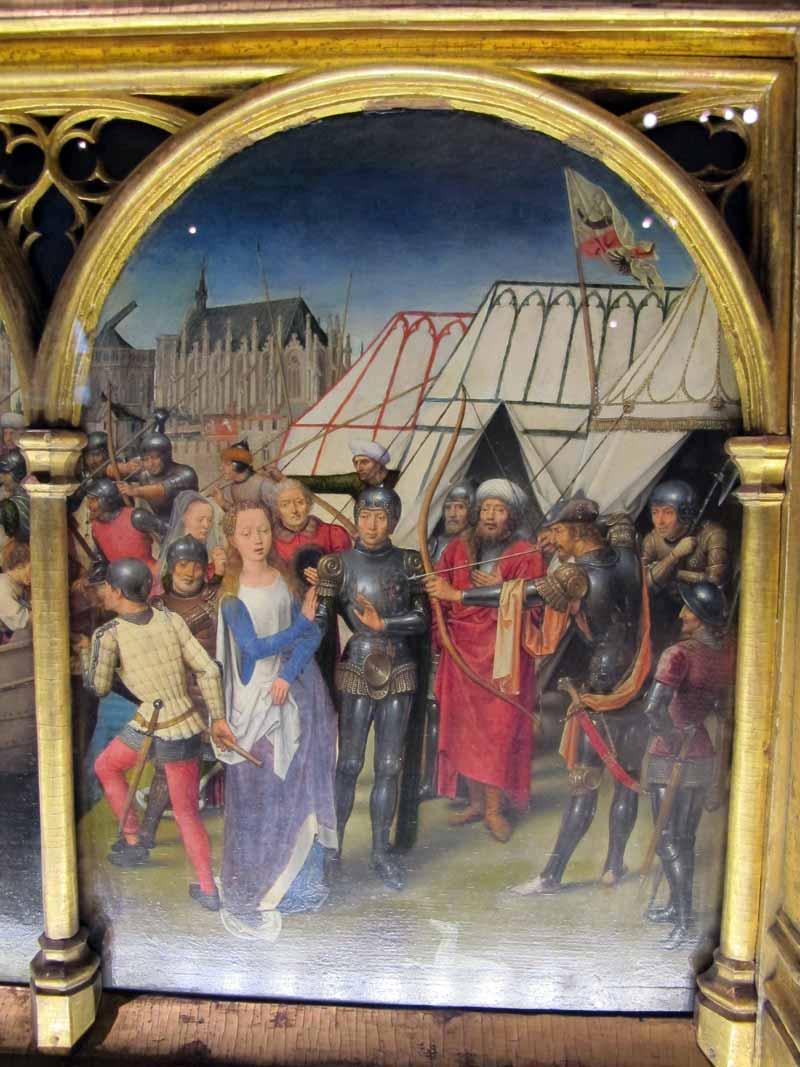 Bruges, uma cápsula do tempo entre Memling e a arte contemporânea Artes & contextos Hans memling cassa di santorsola 1489 10