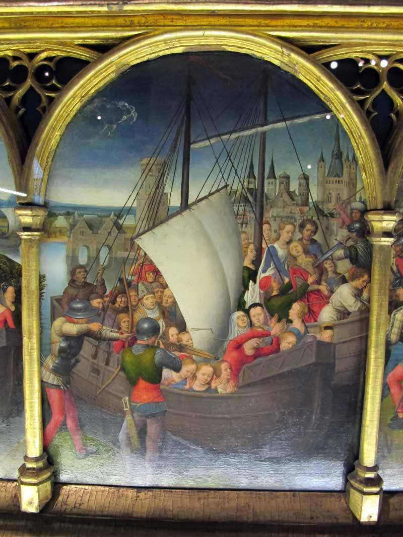 Bruges, uma cápsula do tempo entre Memling e a arte contemporânea Artes & contextos Hans memling cassa di santorsola 1489 11