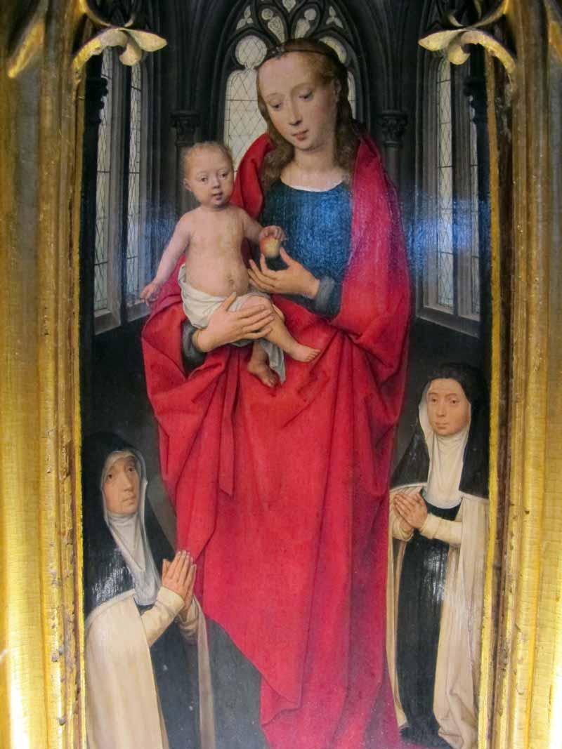 Bruges, uma cápsula do tempo entre Memling e a arte contemporânea Artes & contextos Hans memling cassa di santorsola 1489 19