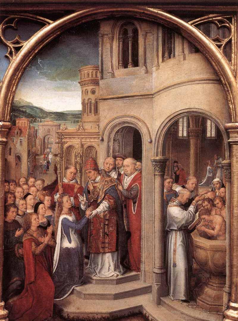 Bruges, uma cápsula do tempo entre Memling e a arte contemporânea Artes & contextos Memling reliquiario di santorsola 03