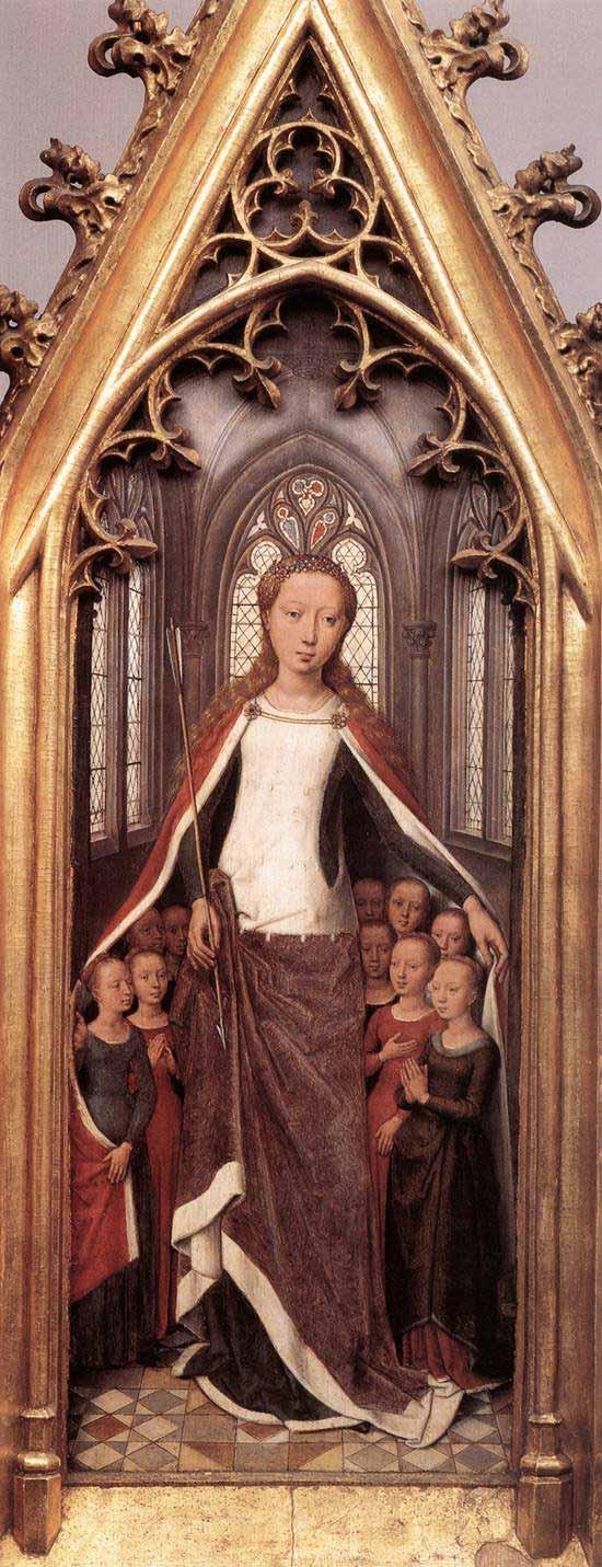 Bruges, uma cápsula do tempo entre Memling e a arte contemporânea Artes & contextos Memling reliquiario di santorsola 08