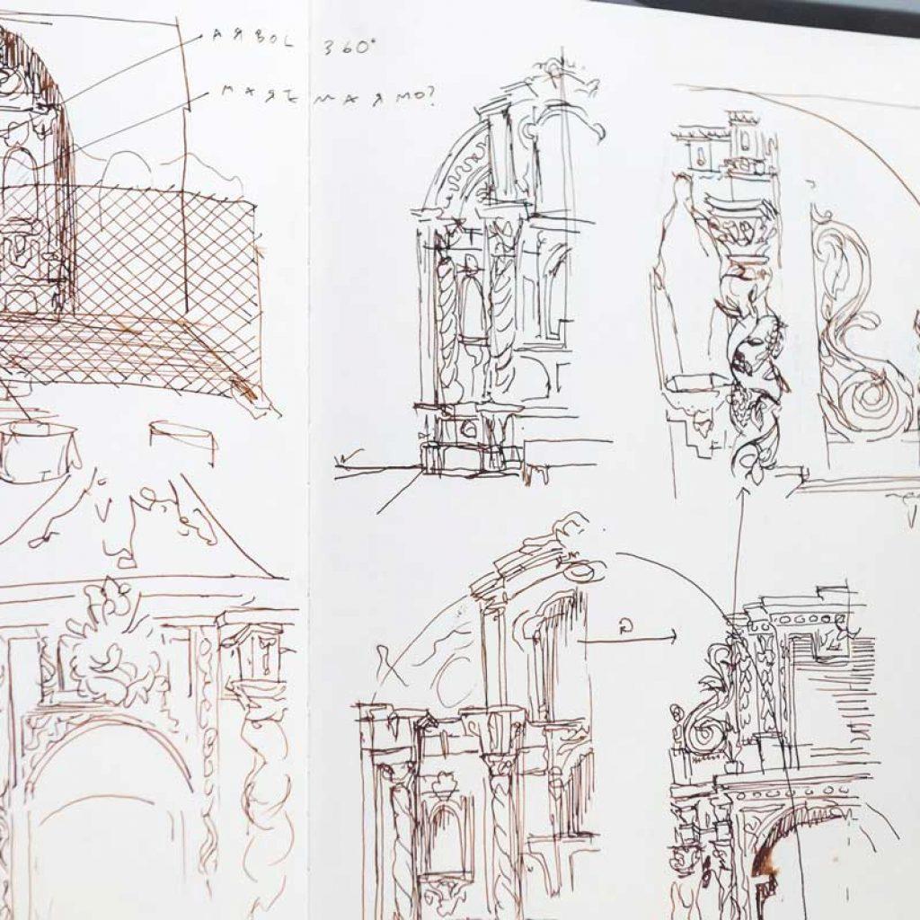 A experiência imersiva de Borondo sobre o património artístico Artes & contextos 2