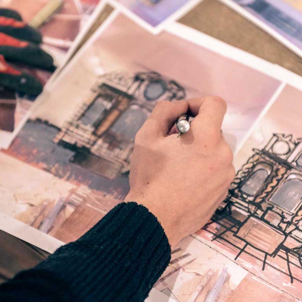 A experiência imersiva de Borondo sobre o património artístico Artes & contextos 3