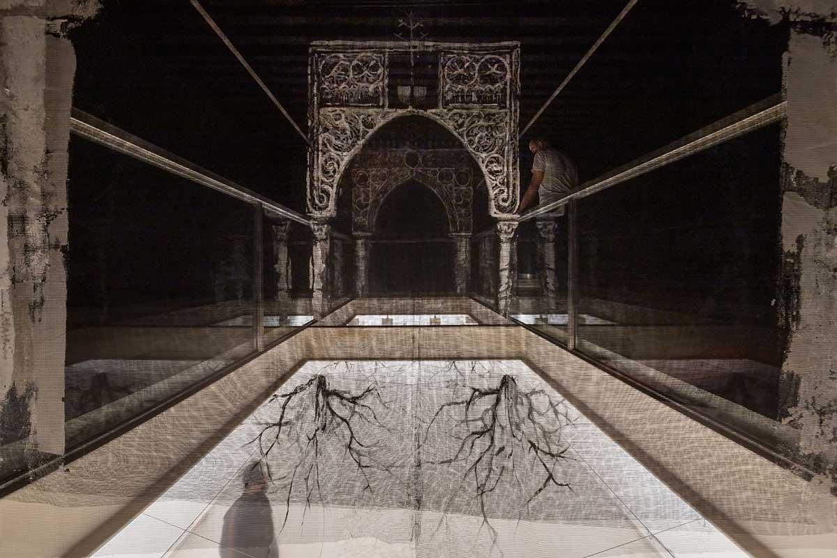 A experiência imersiva de Borondo sobre o património artístico Artes & contextos Hereditas Borondo ph %C2%A9 Roberto Conte 11
