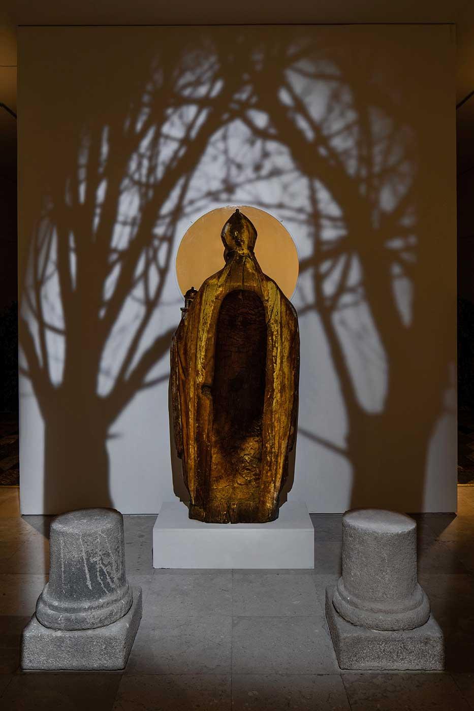 A experiência imersiva de Borondo sobre o património artístico Artes & contextos Hereditas Borondo ph © Roberto Conte 4