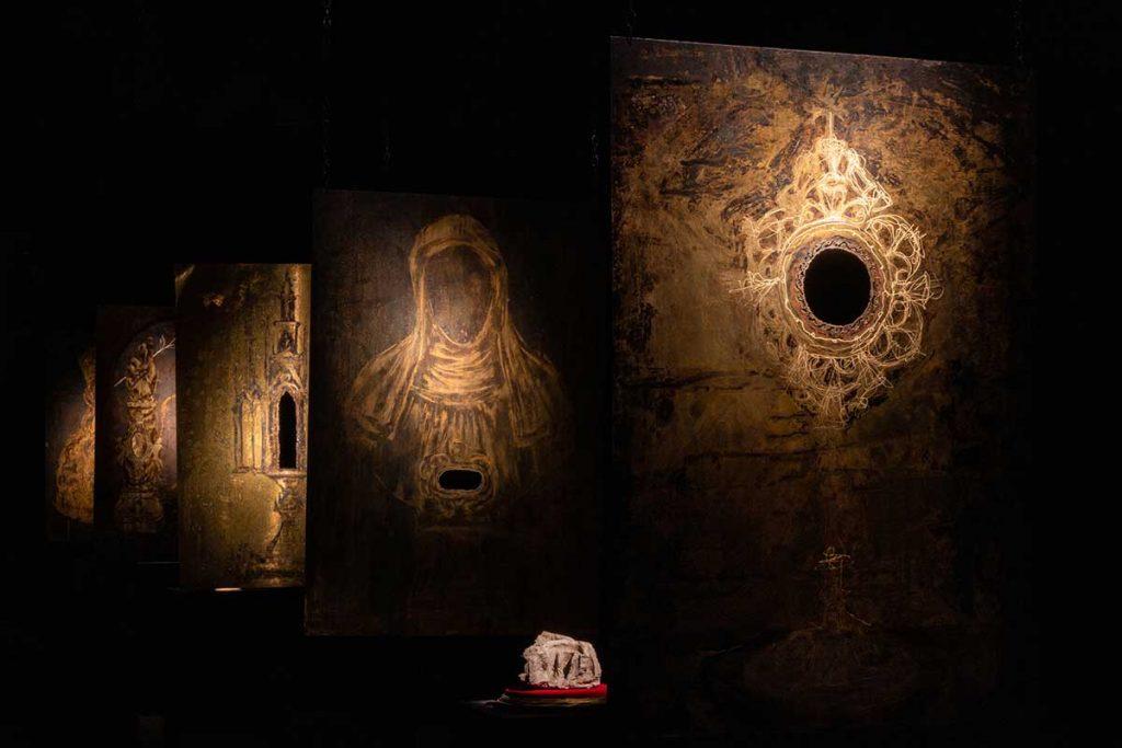 A experiência imersiva de Borondo sobre o património artístico Artes & contextos Hereditas Borondo ph %C2%A9 Roberto Conte 5