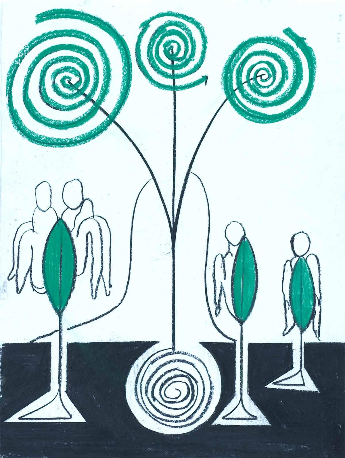 Um encontro vegetal - diálogo vivo com a natureza Artes & contextos 09 La Casa Encendida Un encuentro vegetal Eduardo Navarro Photosynthetics 2021 photography by Sofia Jallinsky 2