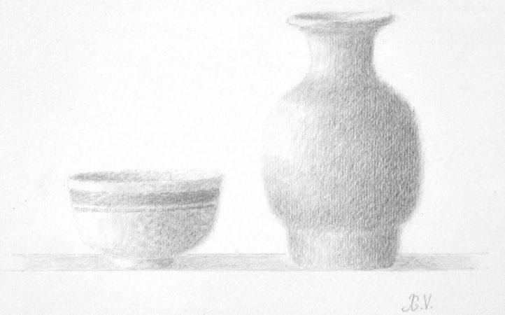 Dos-cerámicas-1999.-Dibujo-a-lápiz.-Papel-Richard-de-Bas.-21-x-30-cm.jpg