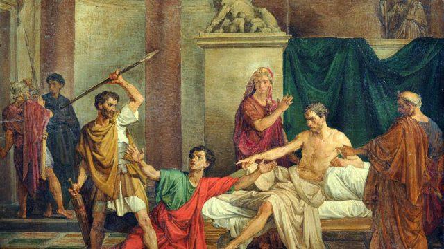 Raffaele-Postiglione-L-imperatore-Claudio-nella-casa-di-Valerio-Asiatico-olio-su-tela-Galleria-Vincent-Napoli.jpg