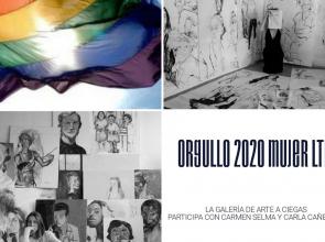 Carmen Selma y Carla Cañellas reivindican el Orgullo 2020 en la Galería de Arte A Ciegas