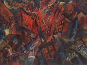 George Grosz: la ciudad en llamas